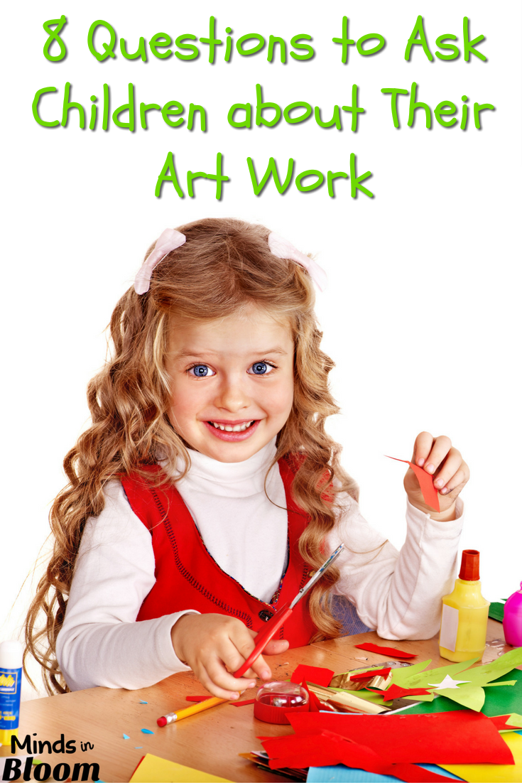 When your child brings home a piece of art work, it's important to do more than just hang it up on the refrigerator. In this post, I provide you with eight questions you can ask your child about his or her art work to encourage self-awareness and critical thinking. Click through to read the post!