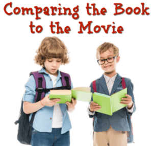 Looking to get your students even more invested in a book? If there's a movie version of the book, then do an activity comparing the book to the movie! This blog post shares some guiding questions and links to a FREE worksheet you can download and use in your classroom.