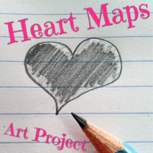 Heart Maps Art Project