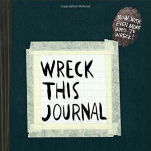 Wreck This Journal is a book for people--anyone!--to let out their creativity. Decorate, color, destroy, embellish, and make the pages yours. You can use it for yourself, or you could find a creative way to use it in the classroom!
