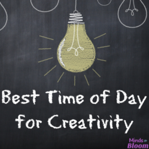 What's the best time of day for creativity? Click through to find out! There is indeed a certain time of day that our bodies and minds are best prepared to be creative, to relax, to be productive, and more.