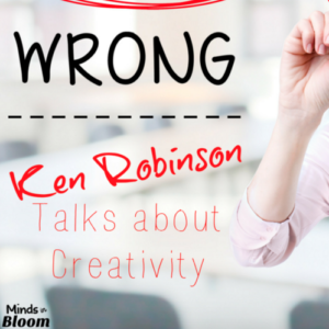 "Ken Robinson discusses whether schools kill creativity and how often, students feel so pressured to get the ""right"" answer that they're afraid to give the wrong answer."