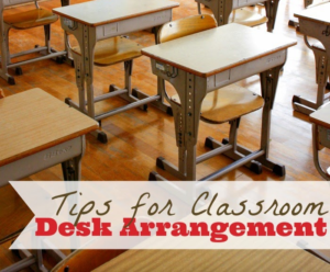 The Creative Classroom – Desk Arrangment