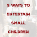 It can be a real challenge to entertain small children while waiting, so here are three fun word games to play while waiting at the bank, in line for a ride, or other times that you find yourself waiting with your kids.