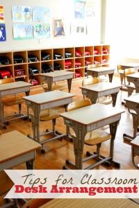 The Creative Classroom – Desk Arrangment