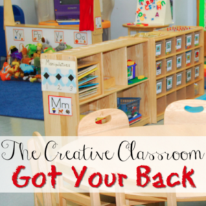 The back of the classroom can sometimes feel like a wasted space, but there are lots of things that you can do with it. I'm sharing some ideas of what to do with the back of your creative classroom, so click through to read more!