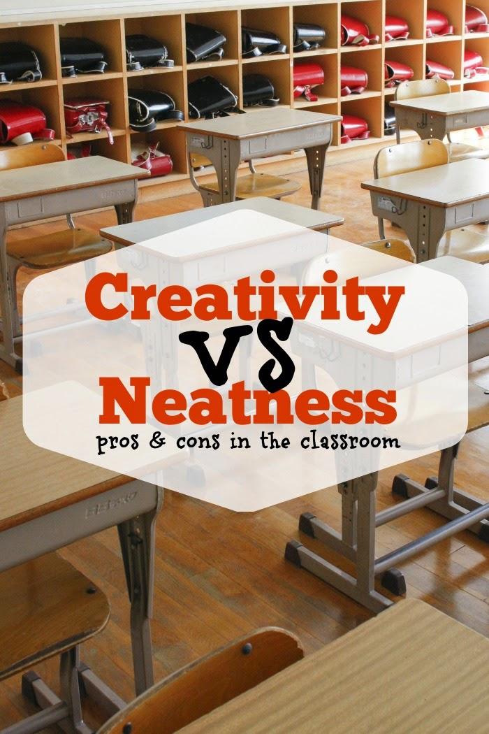 Creativity vs. Neatness: Pros & Cons in the Classroom
