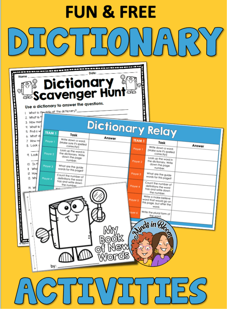 Fun Activities for Dictionary Skills