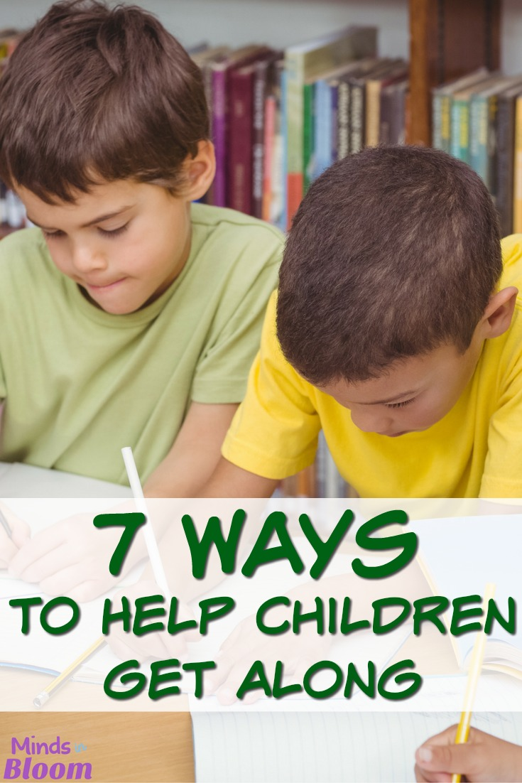 Every teacher has had that class where the students just can't seem to be nice to each other. These seven tips will give you ideas for how to help children get along in your class. We hope you see an improvement in positive relationships and niceness after implementing them!