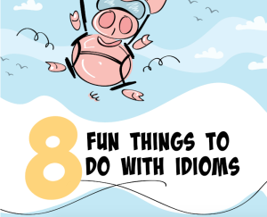 Check out this post about eight fun things to do with idioms and other figurative language elements. Your students will love playing with figurative language!