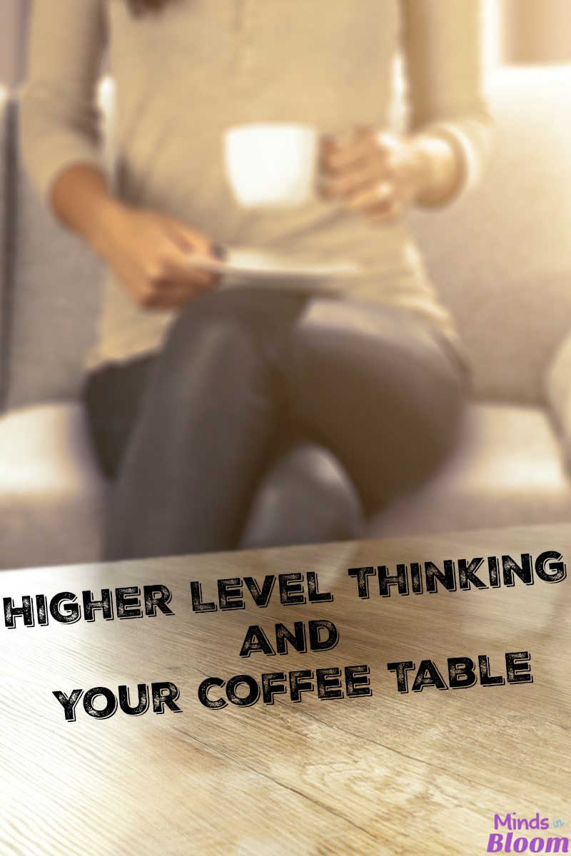 Most families keep books or odds and ends at their coffee table. Why not make your coffee table a place for a little bit of higher level thinking? These games make great additions to your coffee table for your own family and guests to play.