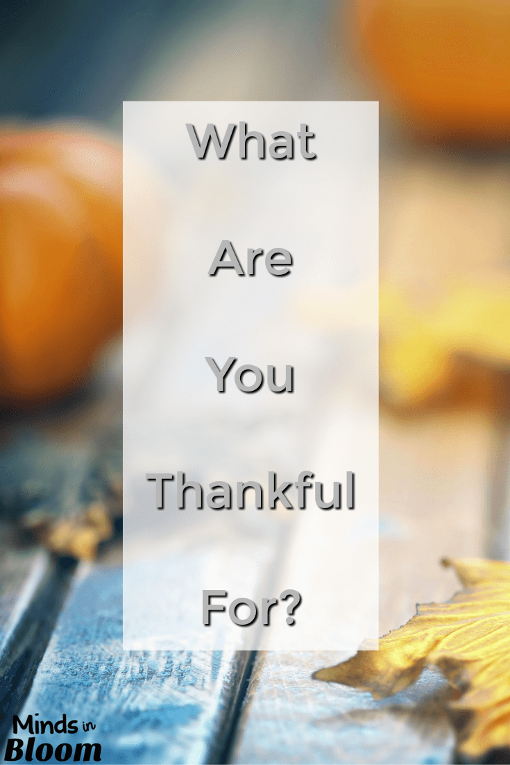 "The question, ""What are you thankful for?"" seems pretty basic at the outset. However, this post describes a lot of fun twists that you can add onto the end of it to encourage students to really think creatively about their answers. Try out a few questions as you prepare for Thanksgiving break!"