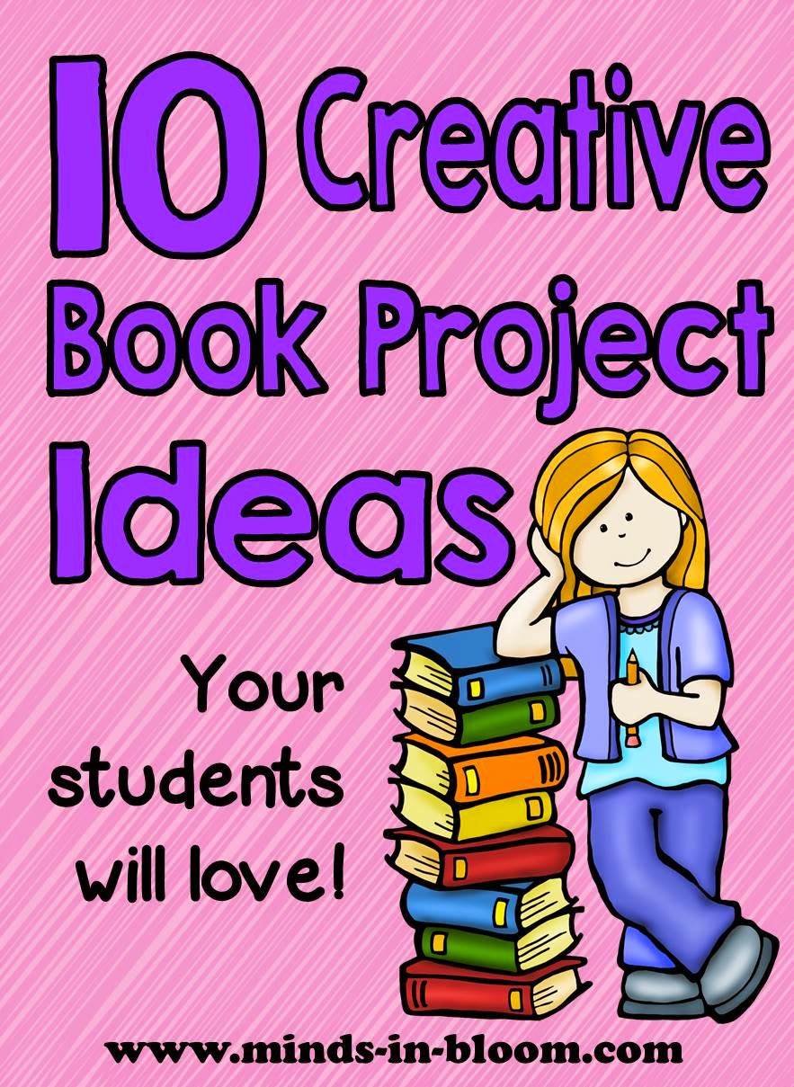 Spanish School Book Cover : Ten great creative book report ideas minds in bloom