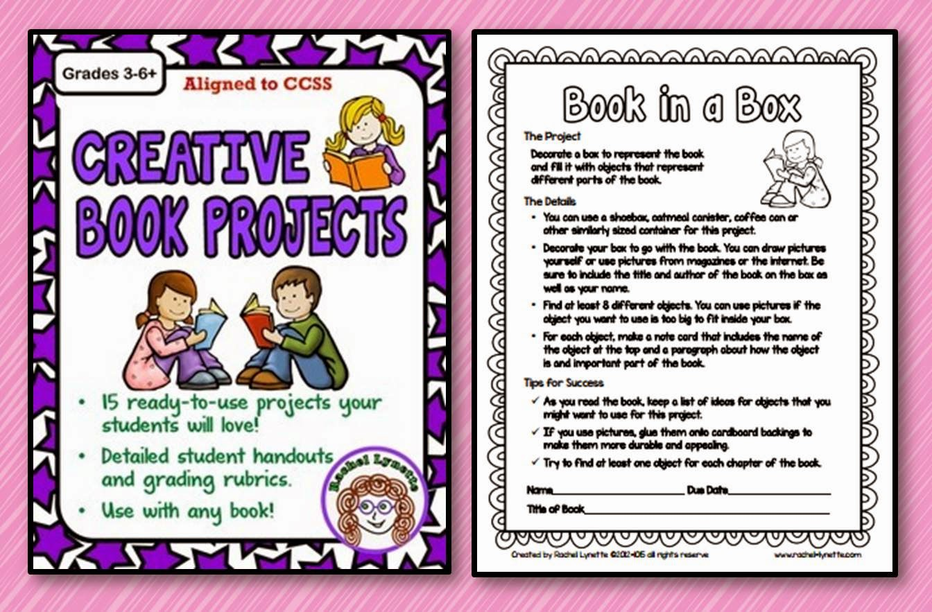 Creative first grade book reports