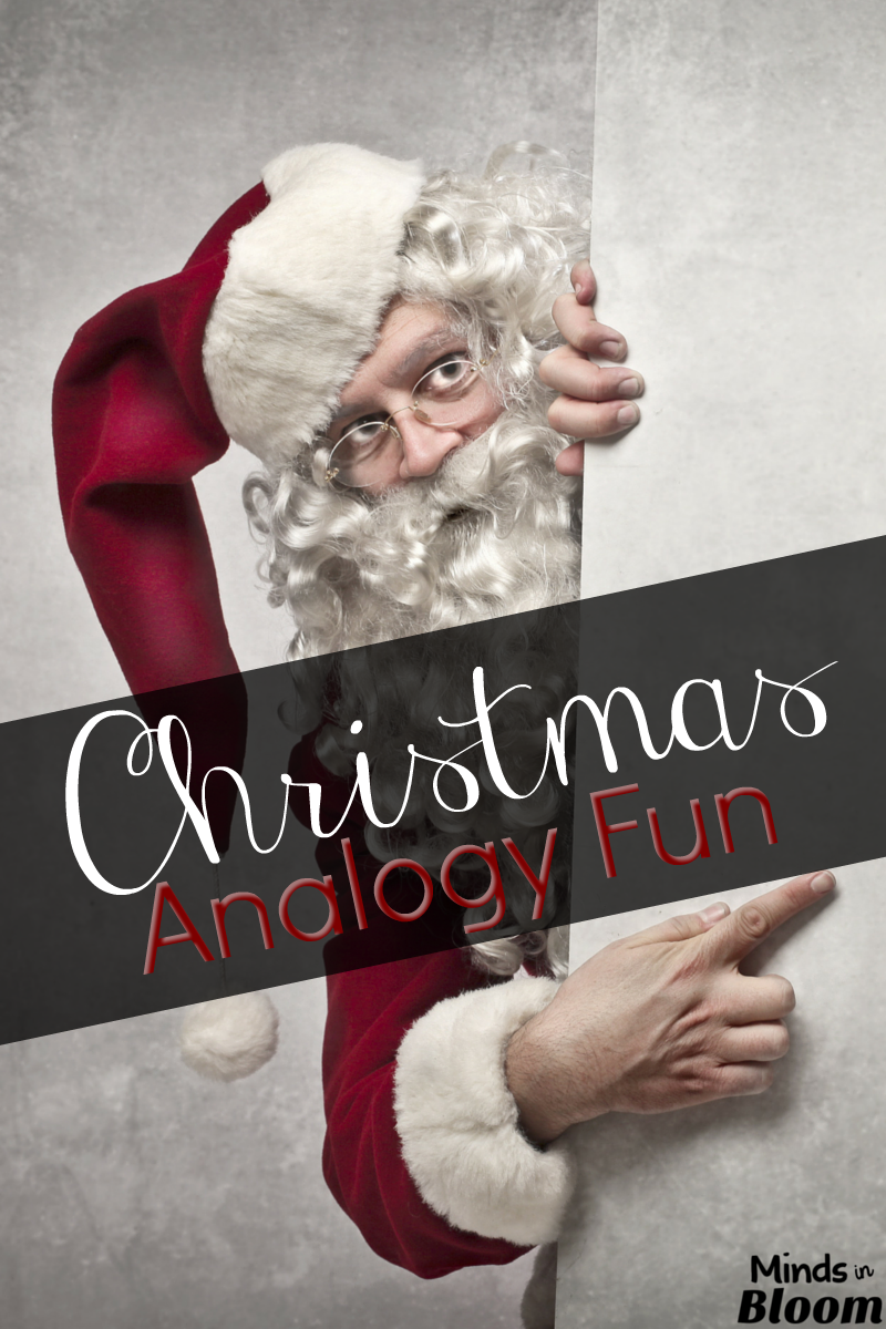 This Christmas Analogy Freebie Will Allow Your Students To Celebrate The Holiday While Practicing Word Work