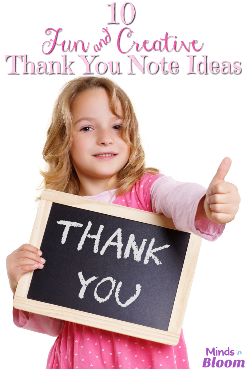"Saying ""thank you"" can be more exciting and personalized than writing a simple note. Read this list for thank you note ideas that includes crafts, multi-media, and other creative ideas!"