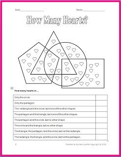 Free Valentine's Day Worksheet