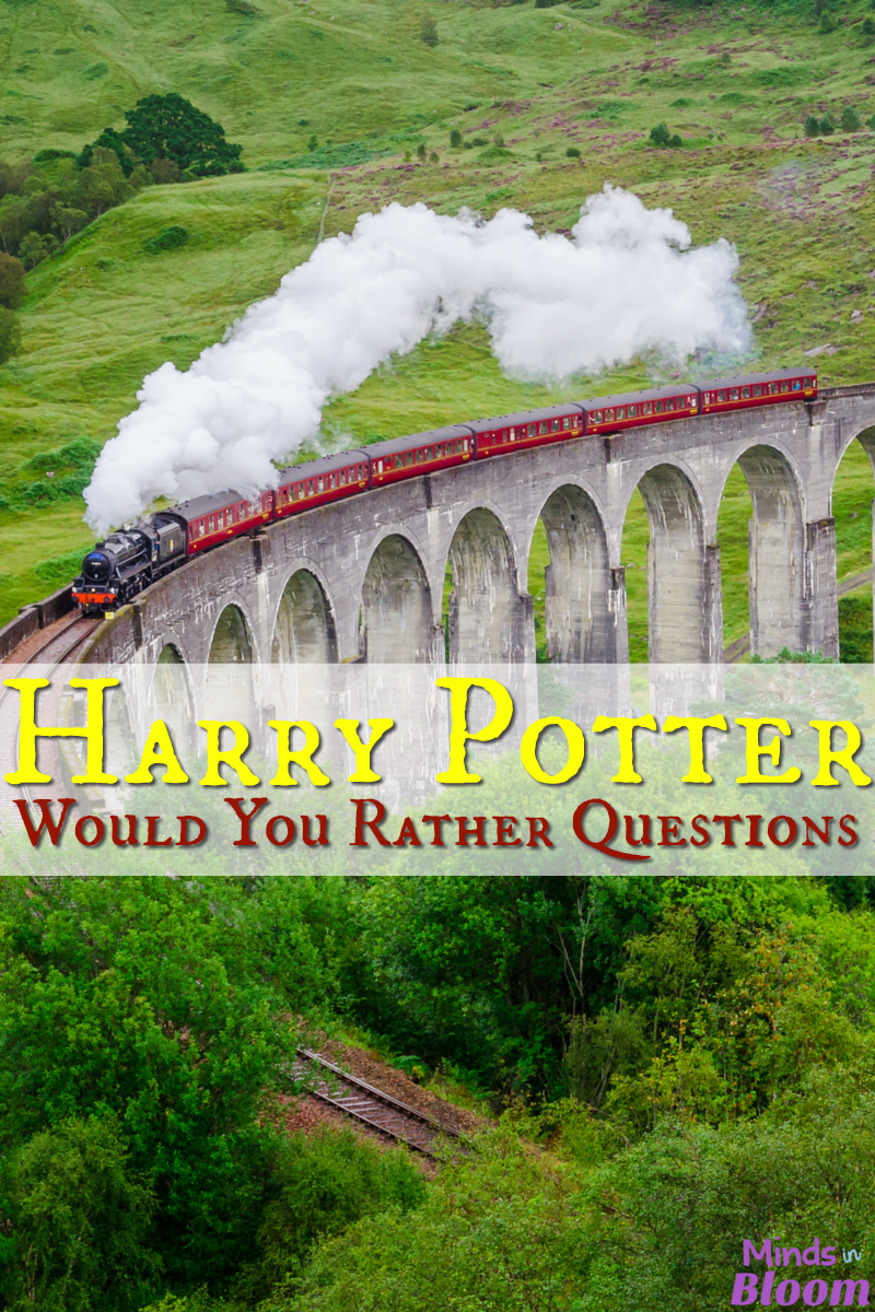 Play this Harry Potter version of Would You Rather questions! Get your students discussing the story and characters in a new light with these questions.