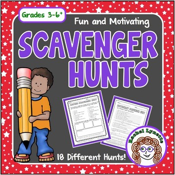 Fun and Motivating Scavenger Hunts for Grades 3-6