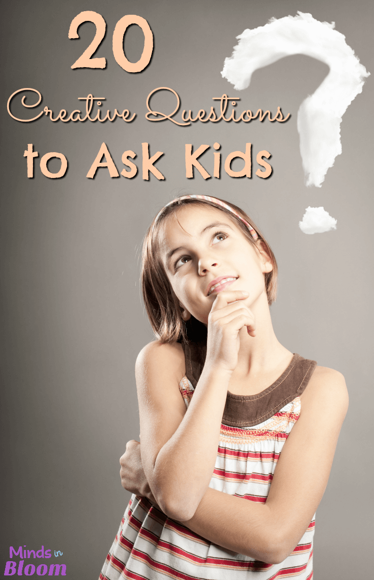 Creative and critical thinking activities are necessary skills in the classroom. Academic intelligence is important, of course, but teaching to students to think outside the box and explore their creativity is also important. These 20 creative questions to ask kids can be done quickly during a few spare minutes of class!