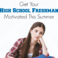 Most parents of teenagers know that their kids go through periods of low motivation. I'm sharing how I motivated my high school freshman one summer, which led to higher grades and a desire to attend a great college! Click through to read how I did it.