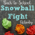 "This back to school ""snowball"" fight activity will have your students getting up and moving around the classroom to get to know each other. Extend the activity by repeating it with new facts--or use the same ones again!"