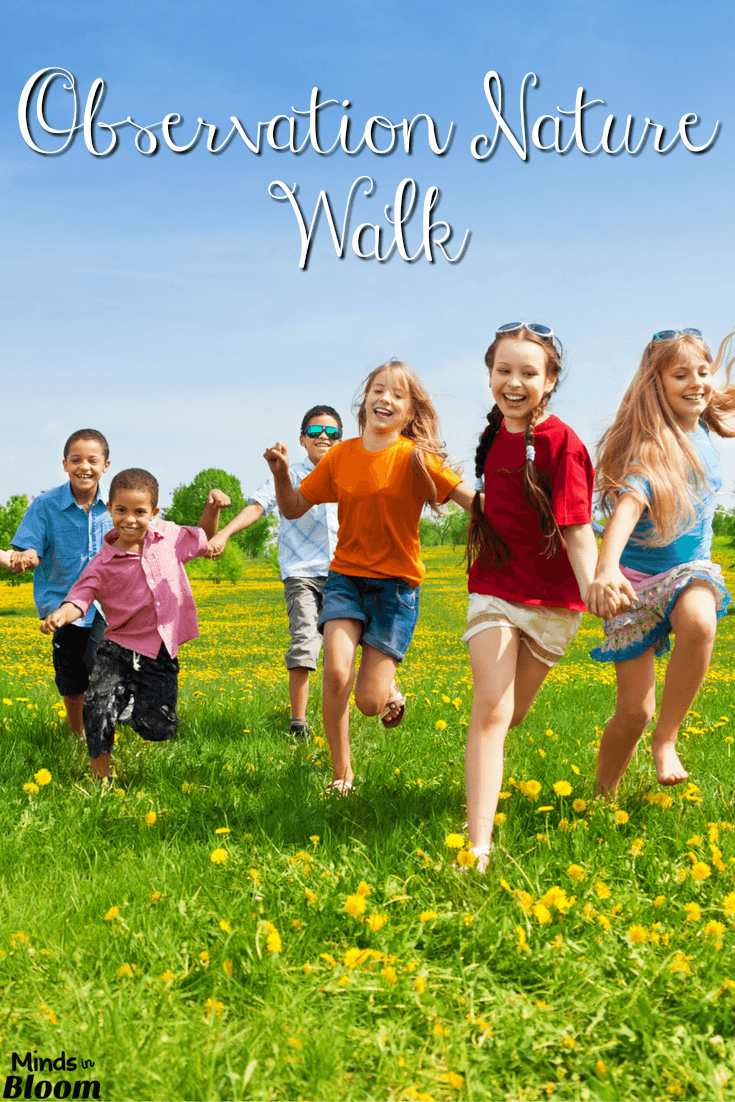 Nature walks can be a powerful tool for teaching your students the power of observation. Find a nature trail near your school, and place 10-12 items along the trail. Then, you can take your students on the nature walk and ask them to find the items. I give ideas for how to execute this activity inside this post, so check it out now!
