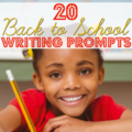 20 Back to School Writing Prompts