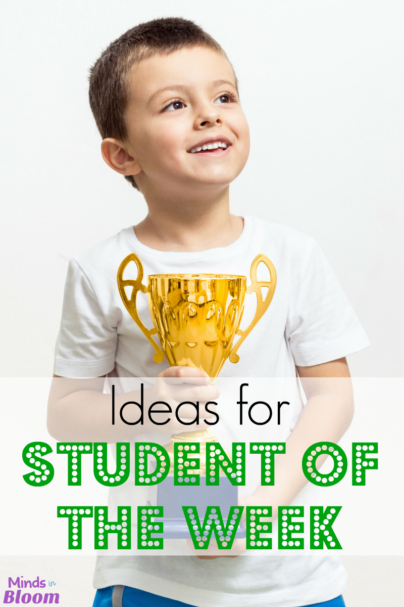 Kids love being recognized in the classroom. Check out this list of ideas for Student of the Week, Super Star of the Week, or whatever you like to call it!