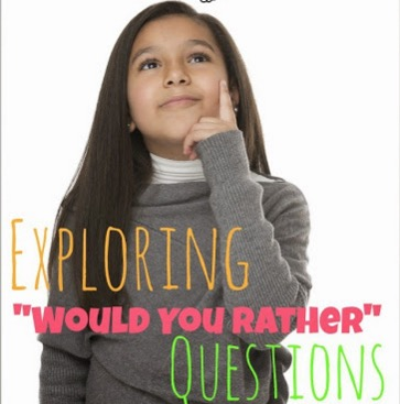 "How do you generate discussion in your classroom? The same old techniques? I suggest switching things up with ""would you rather"" questions! These provide excellent opportunities for creative and critical thinking, and they encourage lively discussion and sometimes even debate. This post explores ""would you rather"" questions, how you can use them, and why you should consider using them. Click through to read more!"