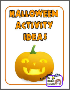 Free Halloween Activity Ideas Ebook!