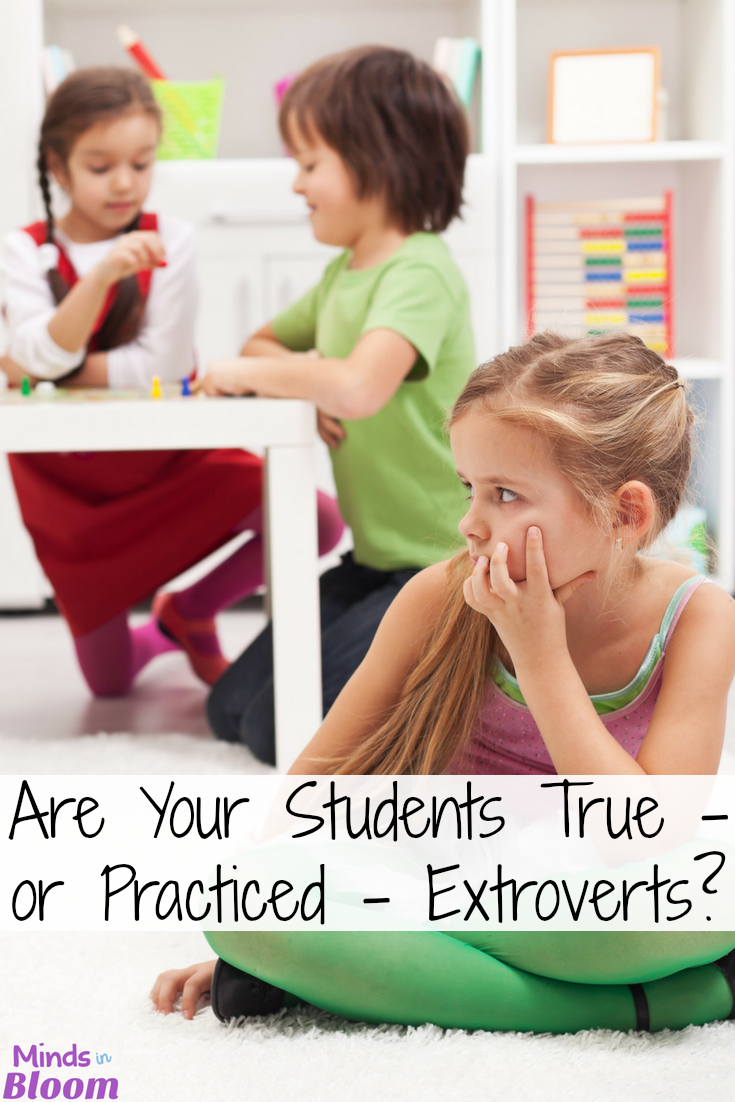 As teachers and as parents, it's important for us to know when our students and kids are introverts and extroverts. How we approach them in the classroom, how we teach them, and how we ask them to work should all vary based on this determination in our students' personality types. Our guest blogger goes into detail about the differences and gives five tips for accommodating appropriately, so click through to read more.