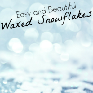 Learn how to make waxed snowflakes with your class! While this does take some care and ground rules, your students will enjoy this fun craftivity, and the snowflakes will last for many years to come!