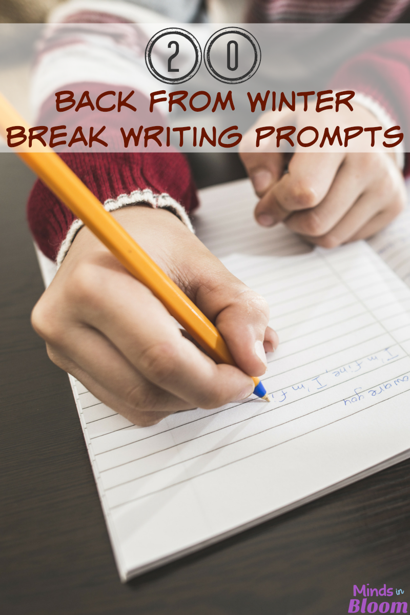 april journal prompts for middle school