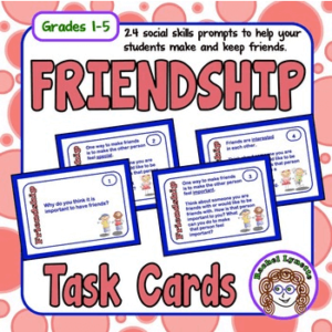 FREE Social Skills Friendship Cards!