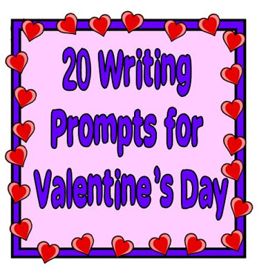 Use this list of 20 Valentine's Day writing prompts to bring writing into your class this holiday. Your students will feel--and express!--the love.