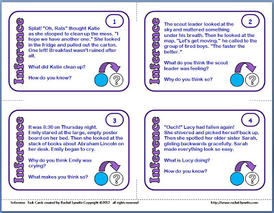 Ereading worksheets inference