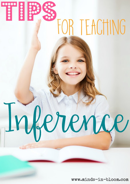 Teaching inference can be a real challenge, but I provide you with several tips for doing so in this blog post, and I share links to books and related resources to help you teach it! Teaching inferences doesn't have to be hard, especially when you have the resources to make it easy!