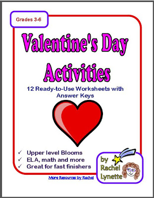 Are you looking for some Valentine's freebies? I've got a couple to share with you in this post, as well as a link to a full Valentine's Day activity pack!