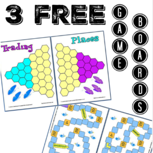 3 Free Game Boards!