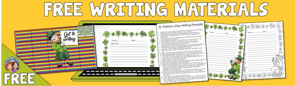 St. Patrick's Day Writing Prompts