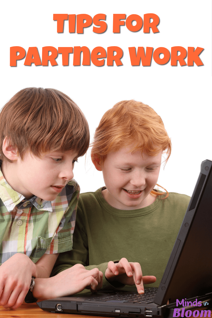 Putting students in pairs to complete assignments and projects is pretty common in classrooms everywhere, but sometimes, partner work can go disastrously wrong. Click through to read these tips for partner work so that all students are successful when working in pairs.