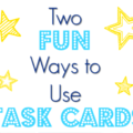 Task cards are an amazing instructional tool, and they're extremely versatile. I love hearing how teachers use task cards in their classrooms, so I'm sharing two fun ways recently shared with me. Check them our to get inspiration for using task cards in your classroom!