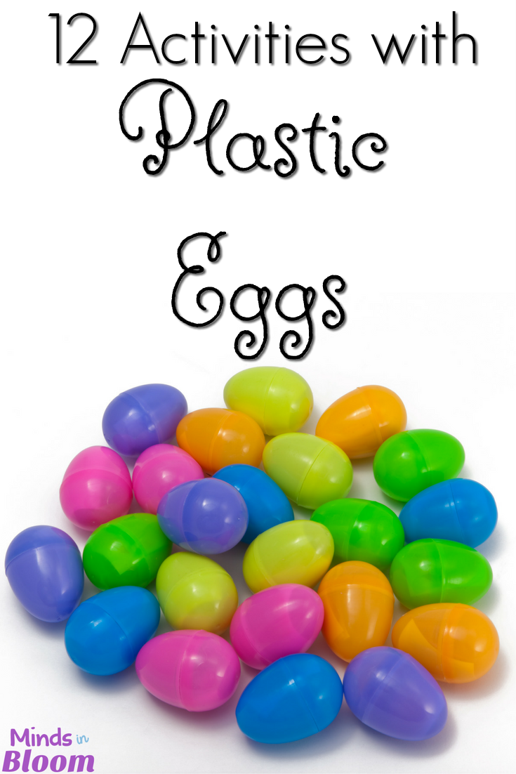 Plastic eggs are useful for more than just Easter egg hunts! Check out this blog post and its 12 activities using plastic eggs. These help make learning more fun and enjoyable for kids!