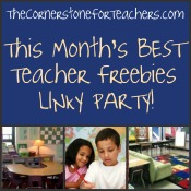 This Month's Best Teacher Freebies Linky Party