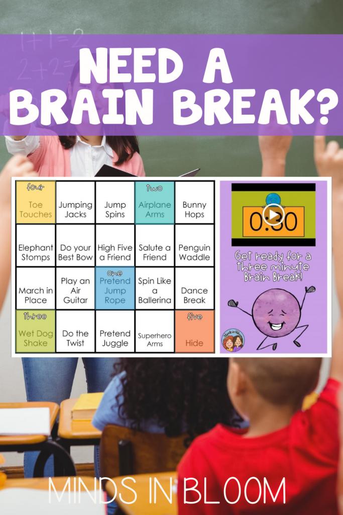 20 3-minute Brain Breaks