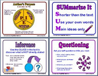 FREE: 8 Reading Response Posters!
