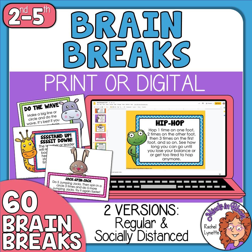 Digital or Print Brain Breaks