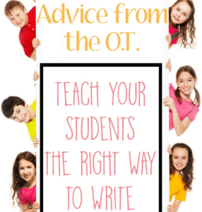Teach Your Students the Right Way to Write