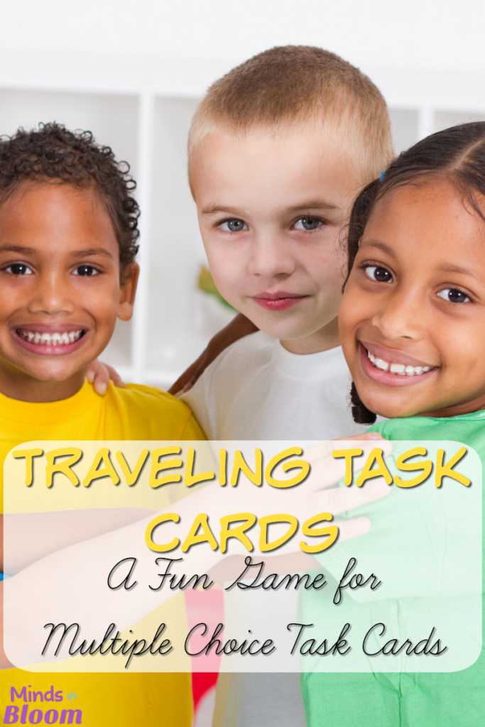 Traveling Task Cards: A Fun Game for Multiple Choice Task Cards